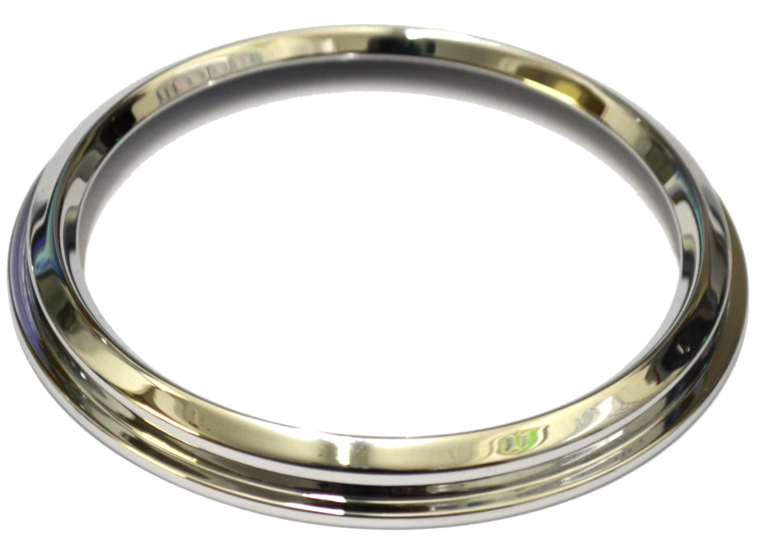 Bottom flange bezel