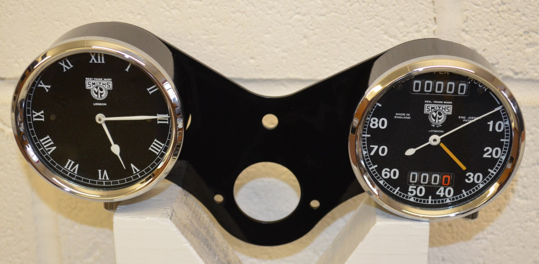 Rudge 8 Day Clock and Chronometric Speedometer