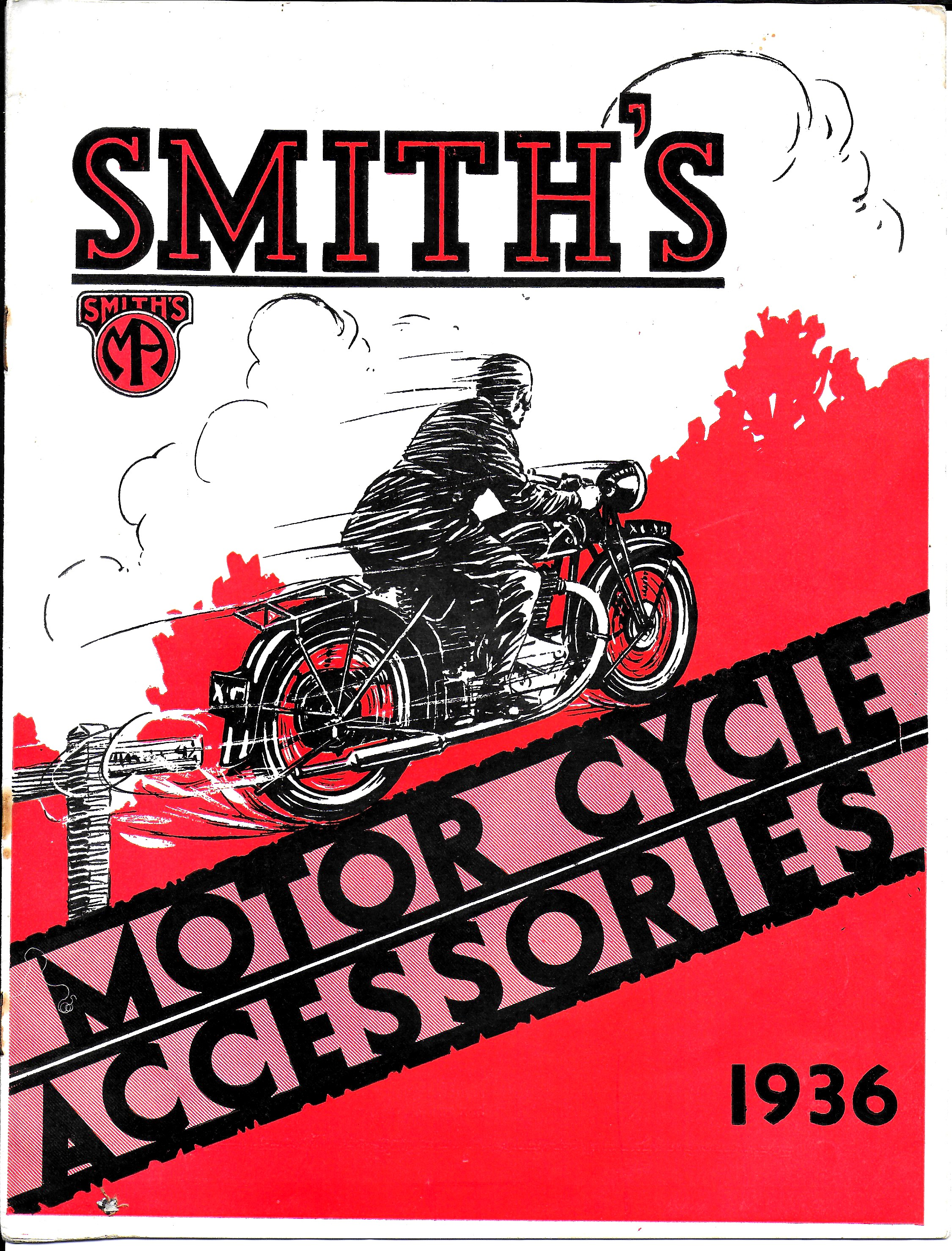 Smiths Motorcycle accessories catalogue 1936